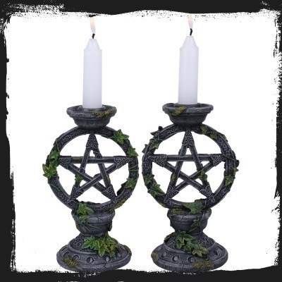 Bougeoir Wiccan (set)
