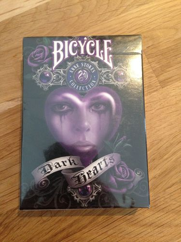 Cartes Bicycle, Dark Hearts, Jeu de Poker