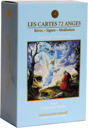 Cartes 72 Anges - Rêves, Signes, Méditations