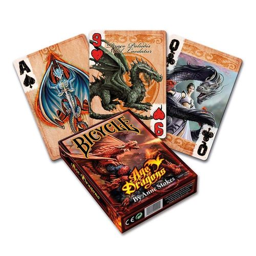 Cartes Bicycle, Age des dragons, Jeu de Poker