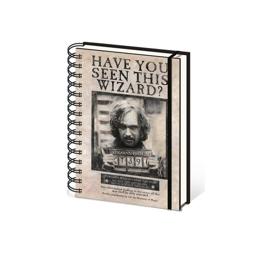 Journal, wanted Sirius Black, Harry Potter
