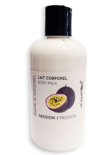 Lait corporel, Fruit de la passion