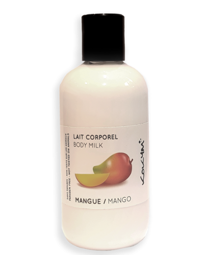 Lait corporel, Mangue