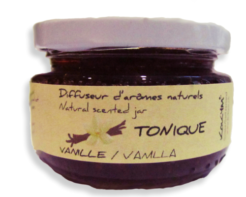 Bocal aromatique, Tonique - Vanille