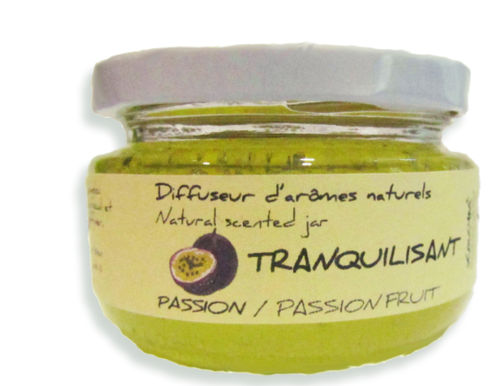 Bocal aromatique, Traquilisant - Fruit de la passion