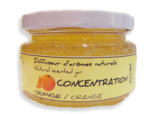 Bocal aromatique, Concentration - orange
