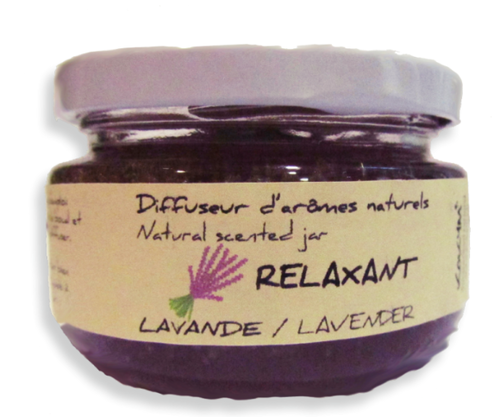 Bocal aromatique, Relaxant - Lavande