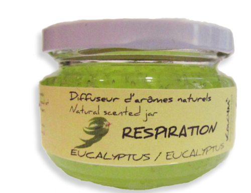 Bocal aromatique, Respiration - Eucalyptus