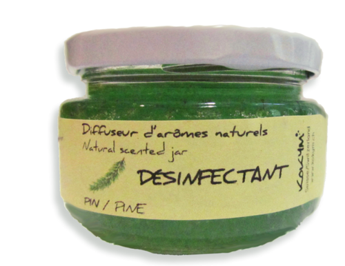 Bocal aromatique, Désinfectant - Pin