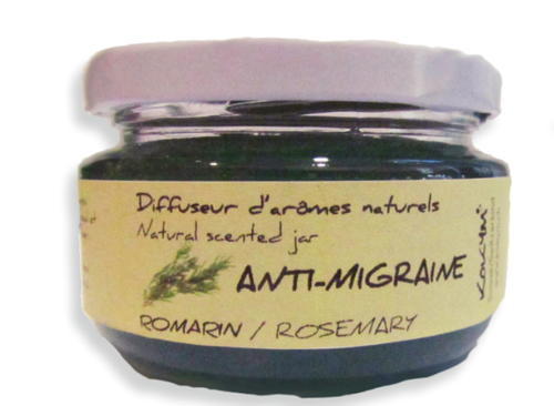 Bocal aromatique, Anti migraine - Romarin