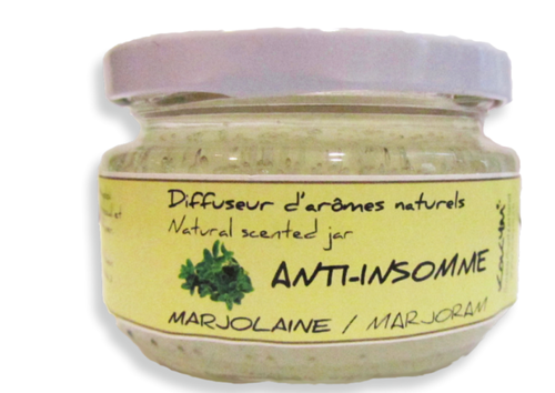 Bocal aromatique, Anti insomme - Marjolaine