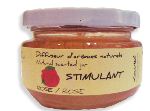 Bocal aromatique, Stimulant - Rose