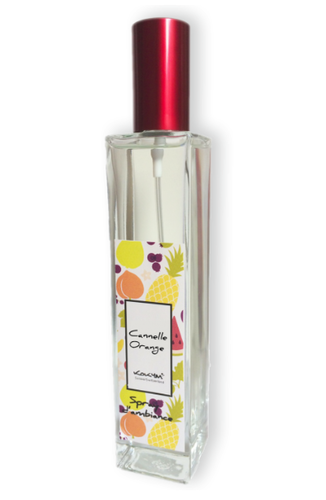 Spray d'ambiance, Cannelle-orange